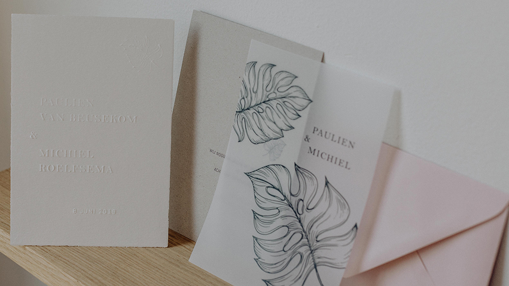 Paper and Ink, Paper & Ink, Paper Ink, Studio Prop, kaartjes, vormgeving, geboortekaartje, geboortekaartjes, drukken, drukker, utrecht, trouwkaarten, trouwkaart, wedding, weddingpakket, trouwhuisstijl, huisstijl, grafisch, grafisch vormgeving, graphic design, Annelien, Annelien van Beusekom, Driebergen, new born, baby girl, baby boy, wedding stationery, wedding stationary, stationary, stationery, kaartjes, ansichtkaartjes, ansichtkaartje, postcard, postcards, tekening, tekenen, creatief, hippe geboortekaartjes, hippe trouwkaarten, hippe trouwkaart, koper, goud, goudfolie, goud drukken, minimalistisch, strak, haarlem, destination wedding, destination wedding invitation, paulien en michiel, melting pot stories, meltingpot stories, minimalistisch, minimalistic chic, chic,chique